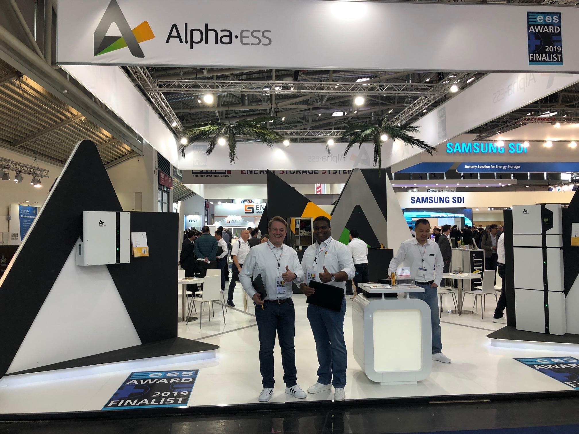AlphaESS op Intersolar 2019